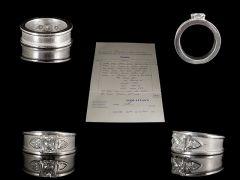 Vintage Hand Made Platinum 1.70ct Diamond Engagement Ring